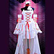 Cosplay Costume Inspired by Pandora Hearts White Rabbit Alice White Dress