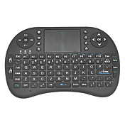 RII mini i8 2,4 g trådløst 92 taster tastatur med touchpad til Google TV box/ps3/pc