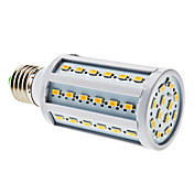 E27 10W 60x5630 SMD 850-900LM 3000-3500K Warm White Light LED Corn Bulb (220V)