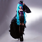 traje cosplay inspirado vocaloid - desde o canto sandplay da hatsune miku drago