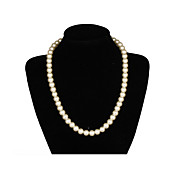 Elegant Een laag Ivory Pearl Women's Necklace