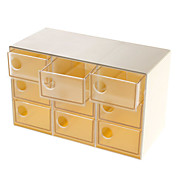 Moda 9 cassetti Accessori Storage Box