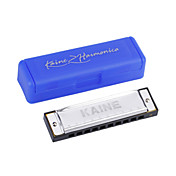 kaine - (k1001) Blues Harp gaita c key/10 holes/20 tons