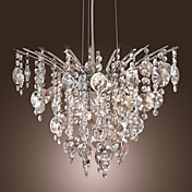 9-Light Crystal Pendant Light