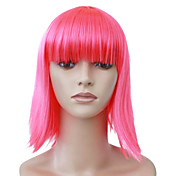 Capless Medium Others Straight High Quality Synthetic Japanese Kanekalon Parties Wigs