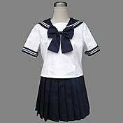 Royal Blue Jazz Lana Sailor School Uniform