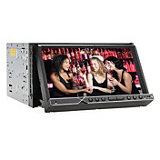 7 Inch 2DIN Car DVD Player with ISDB-T, GPS, Bluetooth, RDS, iPod