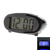 Flying Saucer Style 2.5&quot; Digital Alarm Clock (Assorted Colors, Solar/2xAA)