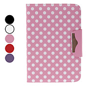 Polka Dots 10.1 &quot;Custodia protettiva con supporto per Google Nexus 10