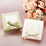 Classic Favor Boxes With Ribbon - Set of 12 (More Colors)