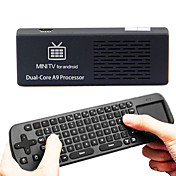 MK808B Bluetooth Android 4.1 Jelly Bean Mini PC RK3066 A9 Dual Core Stick TV Dongle 1pc MK808 Oppdatert en pcAir Mouse tastatur RC12