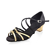 Satin Upper Women/Kids Dance Shoes Ballroom Latin Shoes