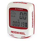 ROSWHEEL LCD Waterproof 14 Functions Wired Bike Computer 81488