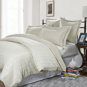 3PCS Lambert Dots Chenille Jacquard Twin/Queen/King Duvet Cover Set