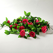 2m (6.5ft)Fuchsia Rose Vine Decoration
