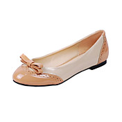 Leather Low Heel Loafers &amp; Slip-ons With Bowknot Honeymoon Shoes (More Colors)