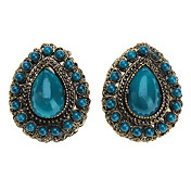 Retro Ancient Gem Drop Earring