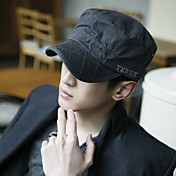 Man's Fashion Grid Pure Cotton Flatcap