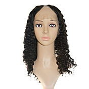 "Lace Front 100% Indian Remy Hair 18"" Long Deep Wave Hair Wigs Multiple Colors Available"