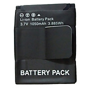 Professional Spare 1050mAH Battery For GOPRO Outdoor Sport Cameras (Black)