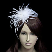 Amazing Flannelette With Tulle Women's Wedding Fascinators