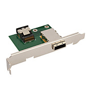 SFF8087 to SFF8088 1 SAS Connector