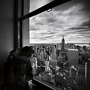Printed Art Landscape NYC Manhattan View by Nina Papiorek