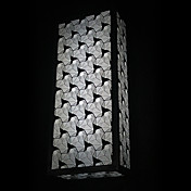 40W Stylish Wall Light with Sculptured Stainless Steel Shade(T6 Light Tube)