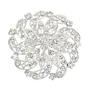 Gorgeous Alloy With Rhinestones Women's Brooch