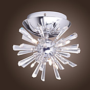 Crystal Wall Light with 6 Lights