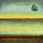 Printed Art Landscape Lonely Tree by Pablo Esteban