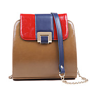 Women's Fashion Contrast Color Dual Use Bag