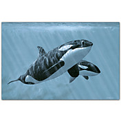 Gedruckt Art Animal Mother And Son-Orcas von Ron Parker