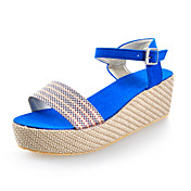 Chic Braided Hemp Rope Wedges Sandals With Buckle Party / Evening / Casual Shoes (More Colors)