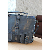 Women's Punk Stylish Skull Rivet Satchels
