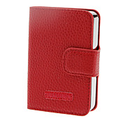 FOCUS étui à cigarettes en cuir avec 8x1.8cm Case Lighter (Hold 10 cigarettes, couleurs assorties)