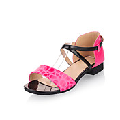 Simple Patent Leather Flat Heel Sandals With Criss-cross Straps Party / Evening Shoes(More Colors)