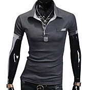 Men's Lapel Polo Short Sleeve T-Shirt