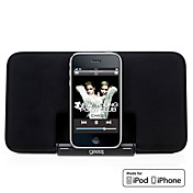 Superdunne Draagbare Speaker voor iPod & iPhone (MFi Certificate, Apple 30-pins aansluiting)