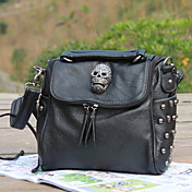 Western Stylish Punk Skull Rivet Crossbody&amp;Messenger Bag