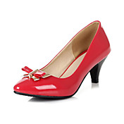 Amazing Patent Leather Stiletto Heel Pointy Toe With Bowknot Party / Evening Shoes(More Colors)