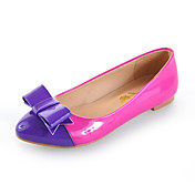 Patent Leather Flat Heel Pointy Toe With Split Joint Casual / Party / Evening Shoes (More Colors)
