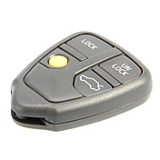 4-Button Remote Key Shell for Volvo AML030761
