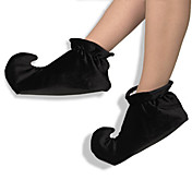 Black Jesters Shoe Covers for Clown Costumes