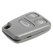3-Button Remote Key Shell for Volvo