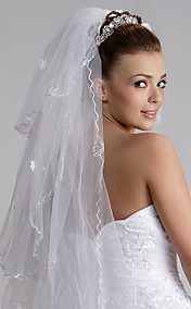 Three Layers Waltz Wedding Veil