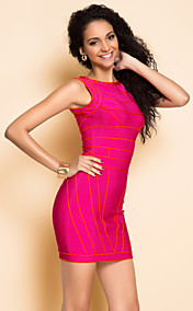 ts Weste bodycon Bandage-Dress