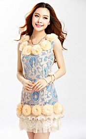 TS VINTAGE 3D Flora Lace Dress