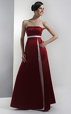 BRIGITA - Vestido de Casamento e Madrinha em Cetim