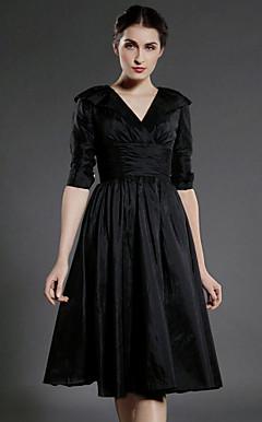 GEDLING - Vestido de Madrinha e Damas em Tafetá